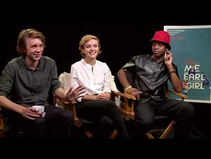 Thomas Mann, Olivia Cooke & RJ Cyler (Me and Earl and the Dying Girl) Interview Video Thumbnail