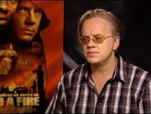TIM ROBBINS (CATCH A FIRE) Interview Video Thumbnail