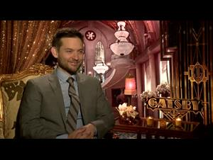 Tobey Maguire (The Great Gatsby) Interview Video Thumbnail