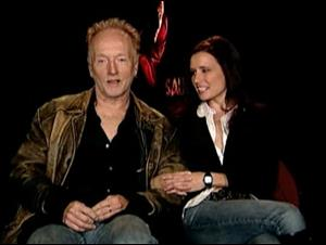 TOBIN BELL & SHAWNEE SMITH (SAW III) Interview Video Thumbnail