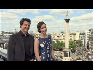 Tom Cruise & Emily Blunt (Edge of Tomorrow) Interview Video Thumbnail