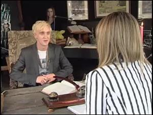 Tom Felton (Harry Potter and the Half-Blood Prince) (Toronto Appearance) Interview Video Thumbnail
