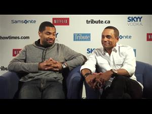 Tommy Oliver & Hill Harper (1982( Interview Video Thumbnail