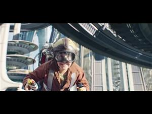 "Tomorrowland movie clip - ""Jet Pack Ride"" Video Thumbnail"