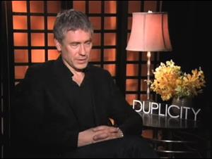 Tony Gilroy (Duplicity) Interview Video Thumbnail