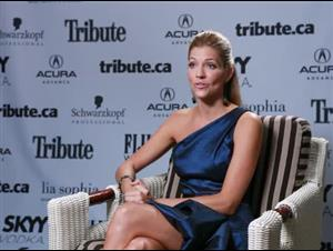 Tricia Helfer (A Beginner's Guide to Endings) Interview Video Thumbnail