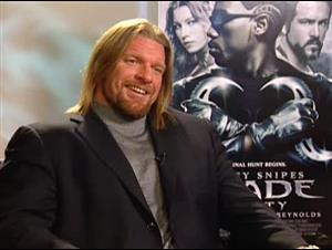 TRIPLE H - BLADE: TRINITY Interview Video Thumbnail