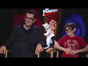 Ty Burrell & Max Charles (Mr. Peabody & Sherman) Interview Video Thumbnail