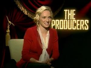 UMA THURMAN (THE PRODUCERS) Interview Video Thumbnail