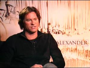 VAL KILMER - ALEXANDER Interview Video Thumbnail