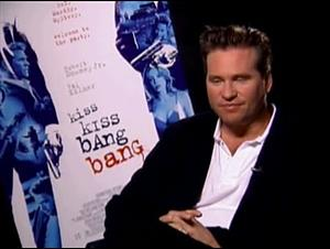 VAL KILMER (KISS KISS BANG BANG) Interview Video Thumbnail