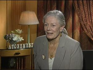 Vanessa Redgrave (Atonement) Interview Video Thumbnail