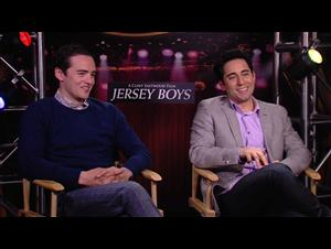 Vincent Piazza & John Lloyd Young (Jersey Boys) Interview Video Thumbnail