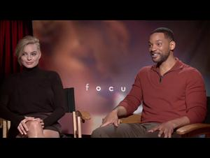 Will Smith & Margot Robbie (Focus) Interview Video Thumbnail