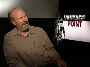 William Hurt (Vantage Point) Interview Video Thumbnail