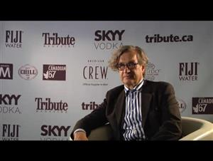 Wim Wenders (Pina) Interview Video Thumbnail