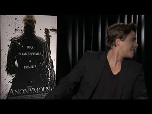 Xavier Samuel (Anonymous) Interview Video Thumbnail