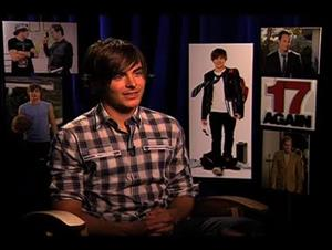 Zac Efron (17 Again) Interview Video Thumbnail