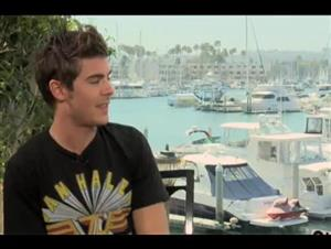 Zac Efron (Charlie St. Cloud) Interview Video Thumbnail