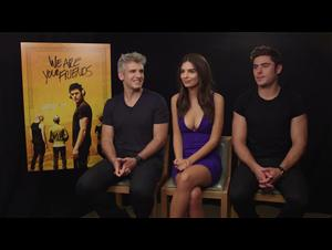 Zac Efron, Emily Ratajkowski & Max Joseph Interview - We Are Your Friends Video Thumbnail