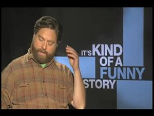 Zach Galifianakis (It's Kind of a Funny Story) Interview Video Thumbnail