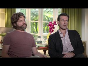 Zach Galifianakis & Jon Hamm Interview - Keeping Up with the Joneses Video Thumbnail