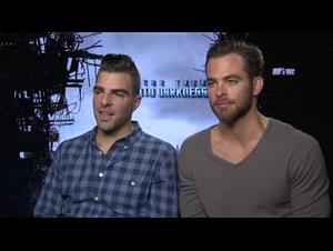 zachary-quinto-chris-pine-star-trek-into-darkness Video Thumbnail