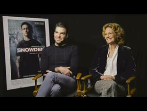 zachary-quinto-melissa-leo-interview-snowden Video Thumbnail