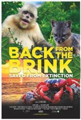 Back From the Brink: Saved From Extinction IMAX Movie Poster