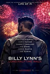 Billy Lynn's Long Halftime Walk Movie Poster
