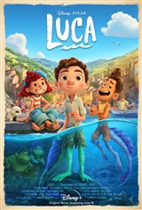 Luca (Disney+) Movie Poster