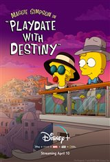 Maggie Simpson in 'Playdate With Destiny' (Disney+) Movie Poster