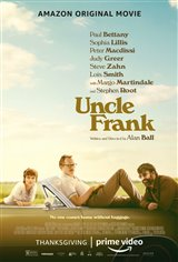 Uncle Frank (Amazon Prime Video) Movie Poster