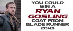 Blade Runner 2049 Coat sweepstakes