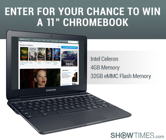 ChromeBook with 4GB Memory Sweepstakes