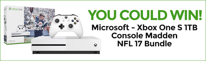 Madden NFL 17 Xbox One contest
