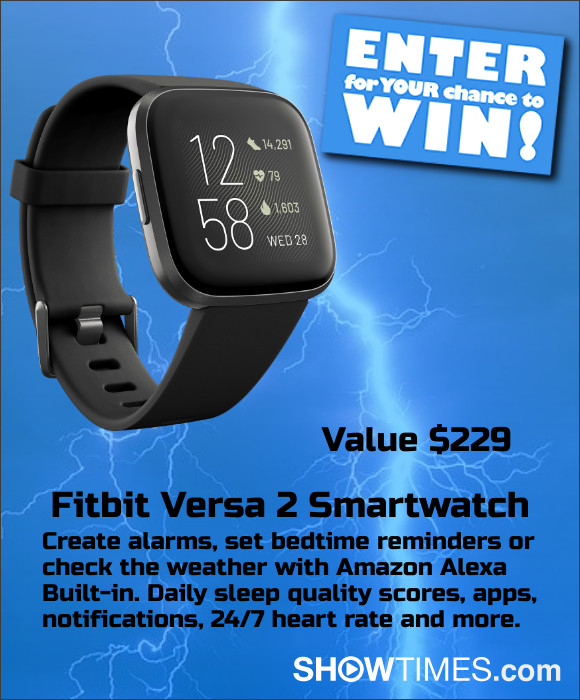 Fitbit Versa 2 Smartwatch Sweepstakes
