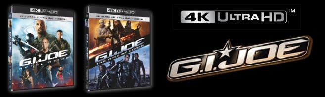 G.I. JOE 4K ULTRA HD Movie Set Sweepstakes