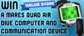 Sharkwater Extinction: Mares Quad Air Dive Computer