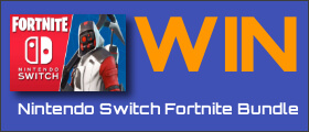 Showtimes NINTENDO SWITCH FORTNITE BUNDLE sweepstakes