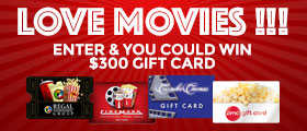 Win a $300 gift card contest