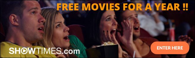 WIN FREE MOVIES FOR A YEAR Sweepstakes