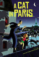 A Cat in Paris Movie Poster