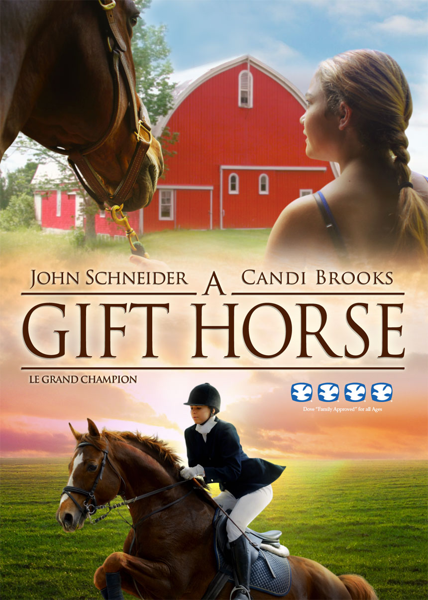 A Gift Horse Large Poster