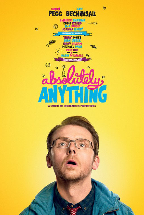 Absolutely Anything Large Poster