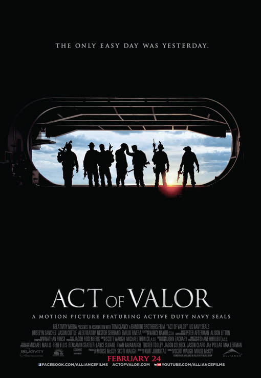 Act of Valor Large Poster