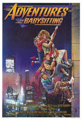 Adventures in Babysitting Movie Poster