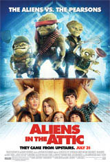 Aliens in the Attic Movie Poster