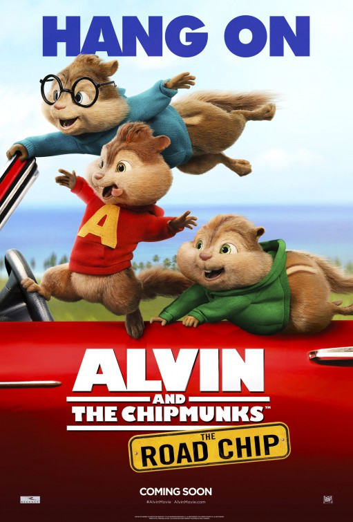 Alvin and the Chipmunks: The Road Chip Large Poster