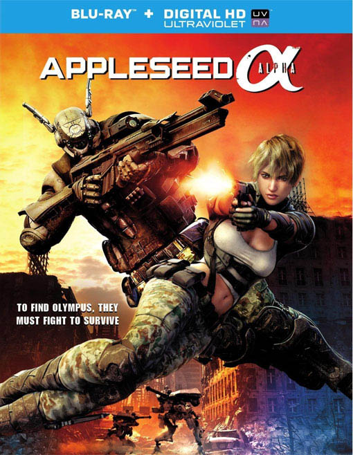 Appleseed Alpha Large Poster